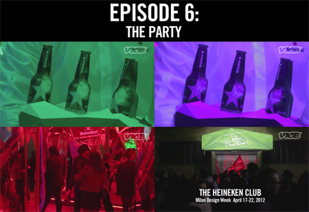 SERIOUS REPRESENTATION MSL GROUP HEINEKEN VICE DISCOTECTURE EPISODE 6 THE PARTY