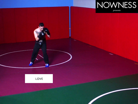 SERIOUS REPRESENTATION ASKA NOWNESS ZACHARY WOHLMAN IN THE RING DIRECTED BY CRYSTAL MOSELLE
