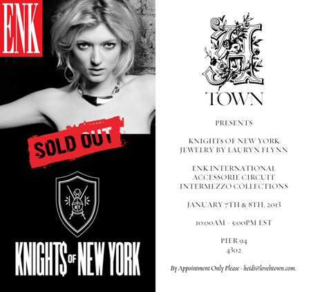 SERIOUS REPRESENTATION HTOWN KNIGHT$ OF NEW YORK BY LAURYN FLYNN ENK ACCESSORIE CIRCUIT INTERMEZZO COLLECTIONS